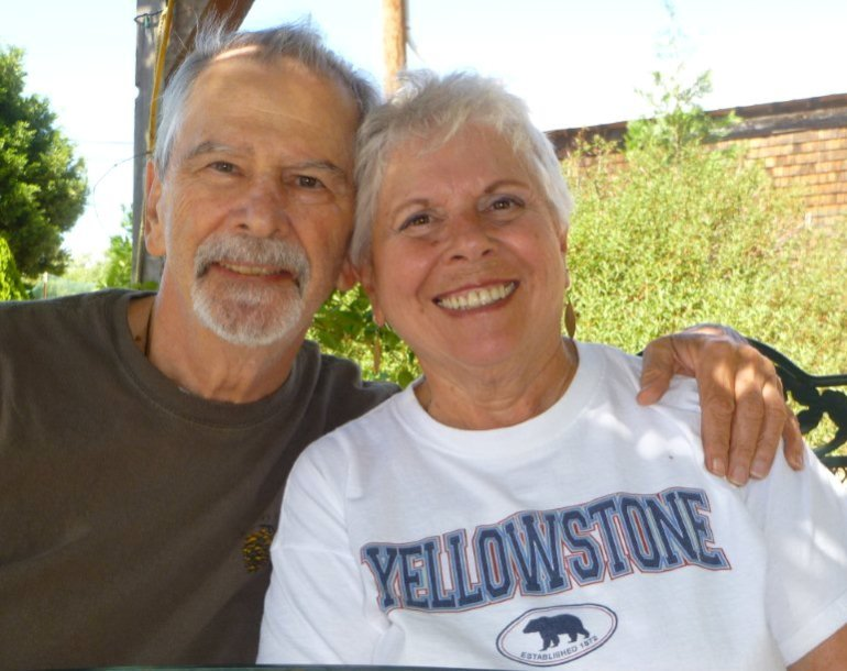 J and M in Julian, Sept. 2012